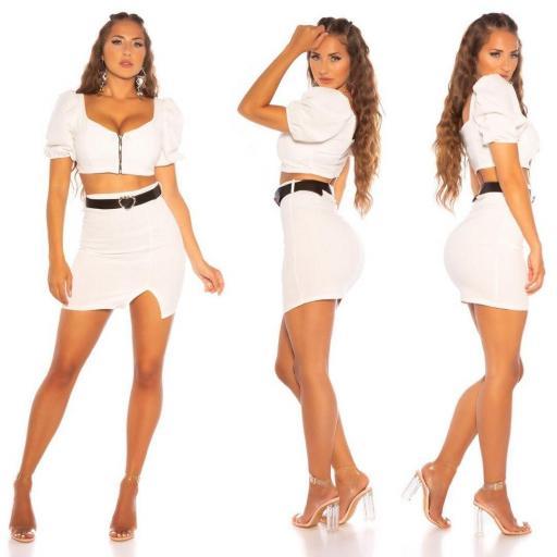 Girly set de falda y top
