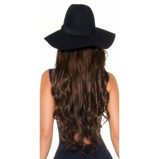 Sombrero moda mujer azul [1]
