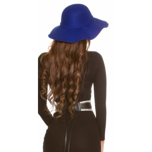 Sombrero boho azul [1]