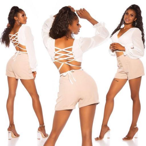 Crop top bailarina blanco [3]