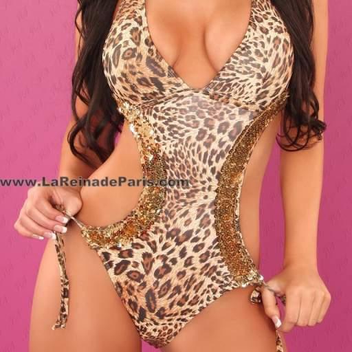 Trikini Sarafina leopardo [2]