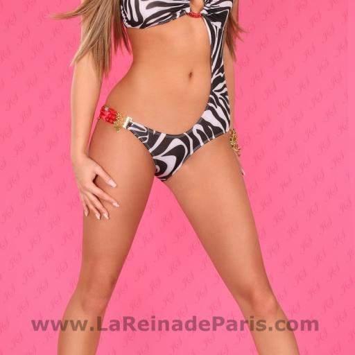Trikini Zebra Print Paris