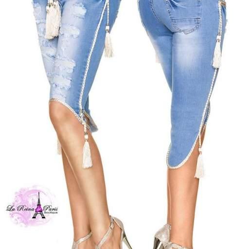 Jean cortos elegantes y modernos Daisy  [1]