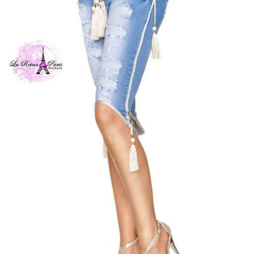 Jean cortos elegantes y modernos Daisy  [2]