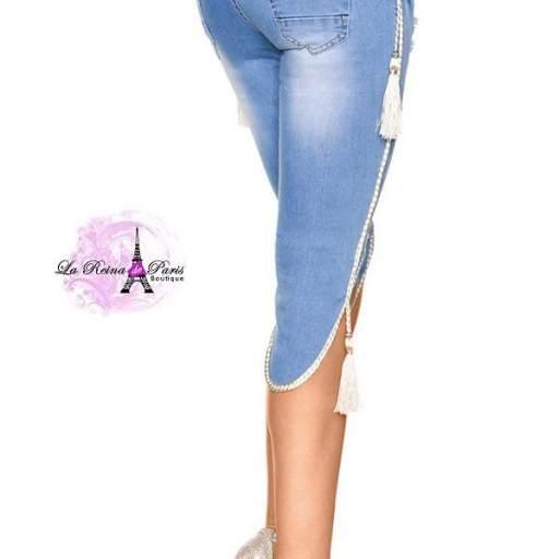 Jean cortos elegantes y modernos Daisy  [3]