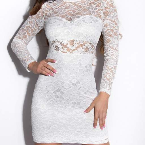 Vestido Lowanna blanco [1]