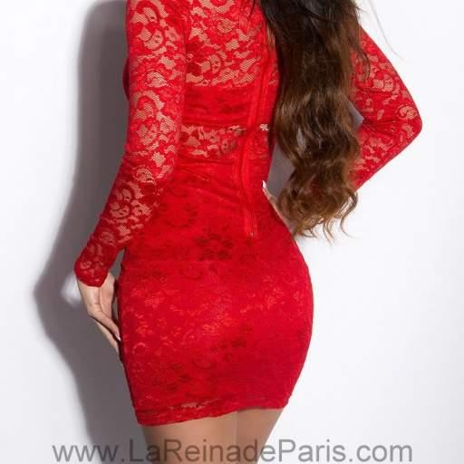 Vestido Lowanna rojo [3]
