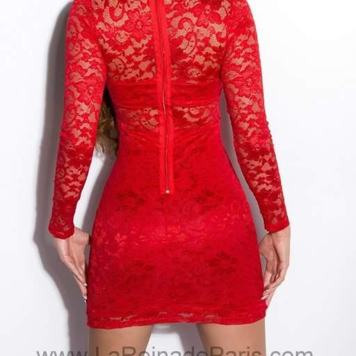 Vestido Lowanna rojo [1]