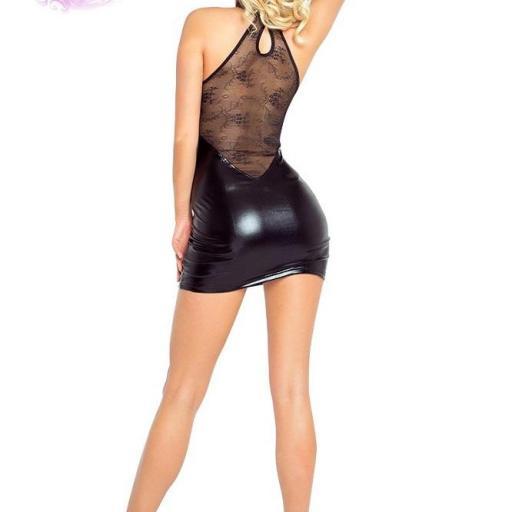 Vestido ajustado cremallera central [2]