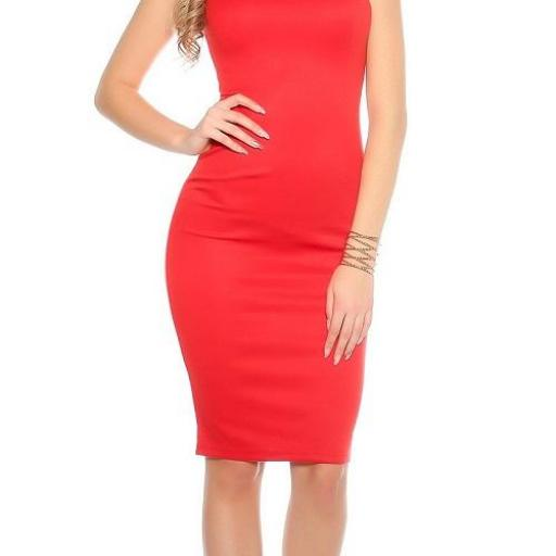 Vestido pincel rojo [1]