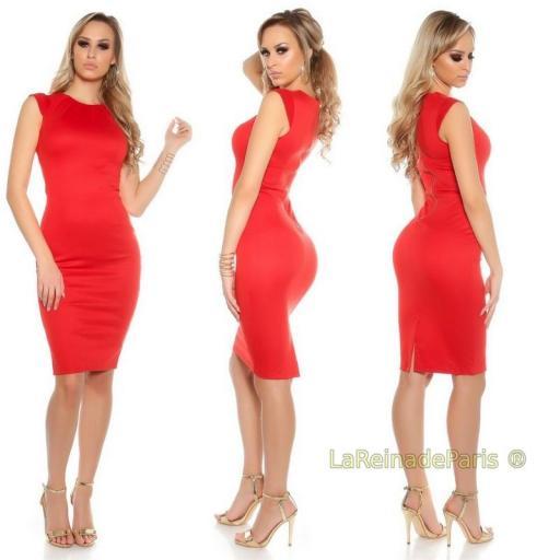 Vestido pincel rojo [3]