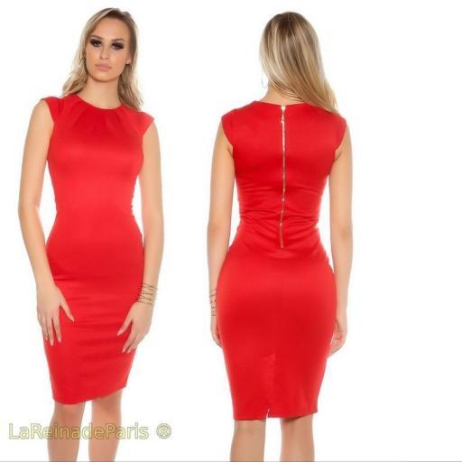 Vestido pincel rojo [2]