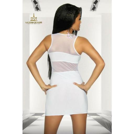 Mini vestido blanco de fiesta cileni [1]