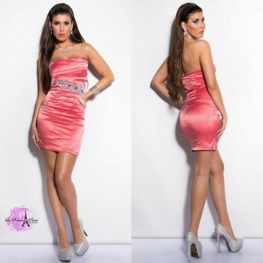 Vestido cóctel barato precioso [3]