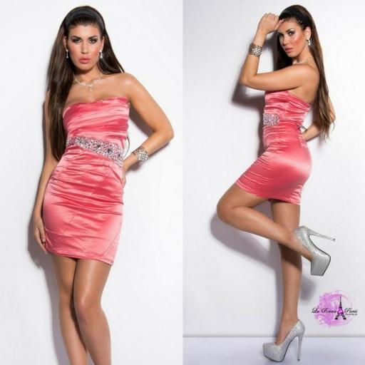 Vestido cóctel barato precioso [2]
