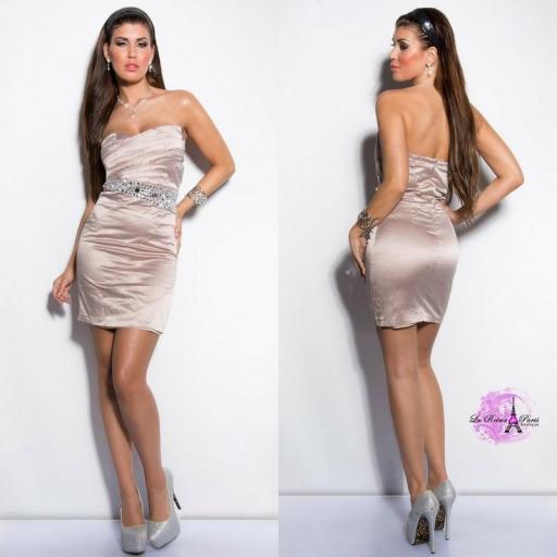 Vestido cóctel low cost elegante [1]