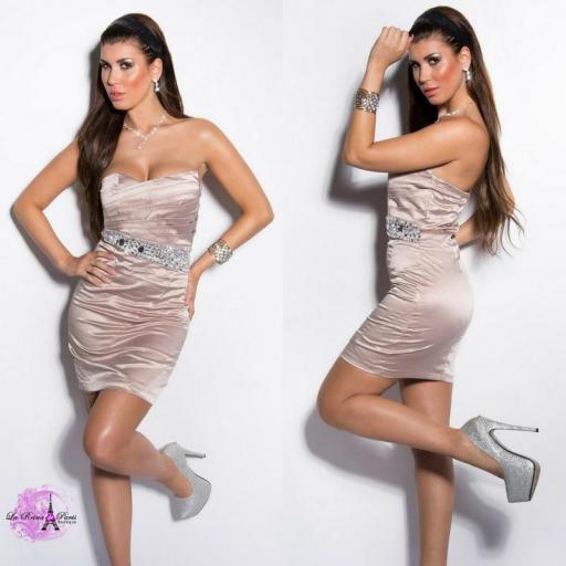 Vestido cóctel low cost elegante [2]