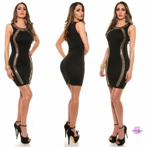 Vestido de fiesta negro LD [1]