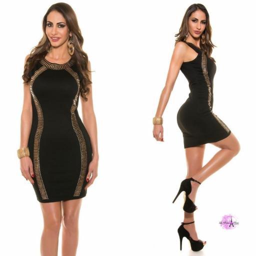 Vestido de fiesta negro LD [2]