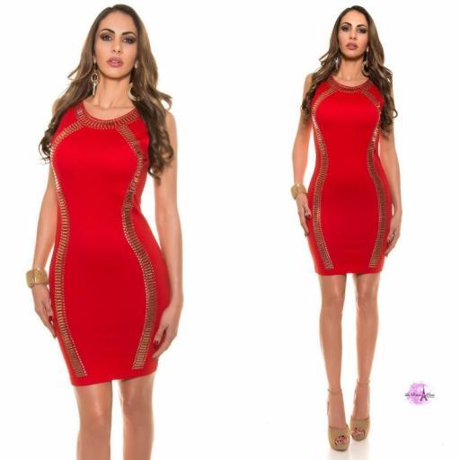 Vestido de fiesta rojo LD [3]