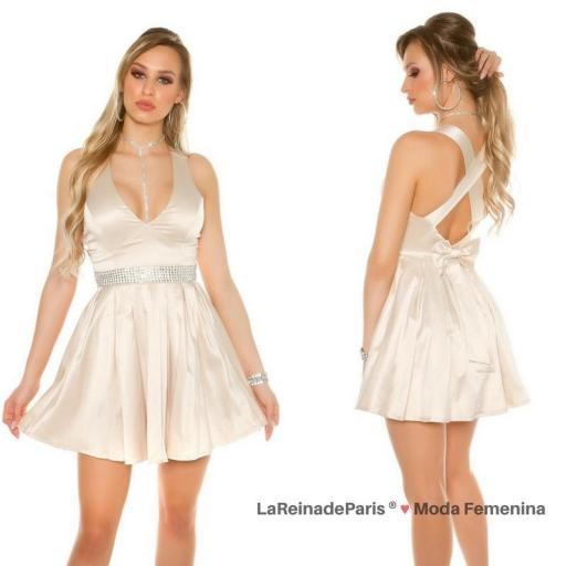 Vestido de noche brillante atractivo [3]