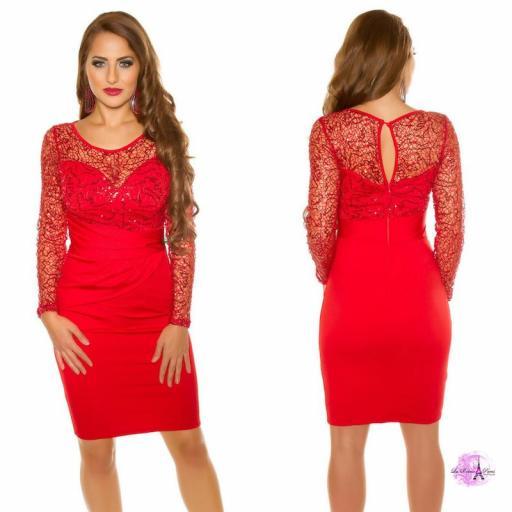 Vestido de fiesta elegancia look [3]