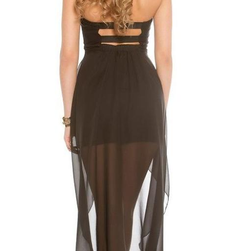 Vestido semi largo glamoroso [1]