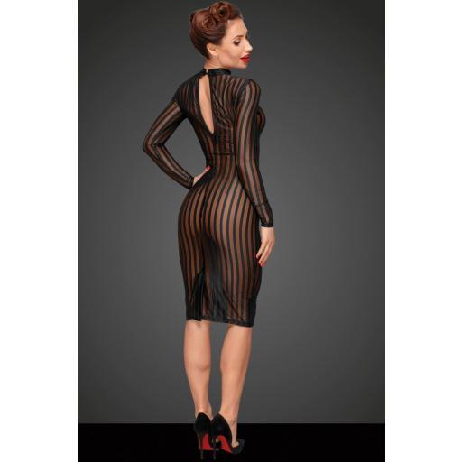 Vestido transparente y ajustado [1]