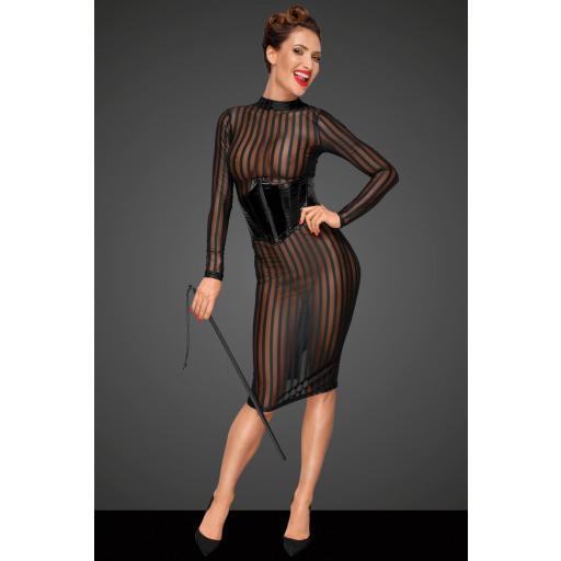 Vestido transparente y ajustado [2]