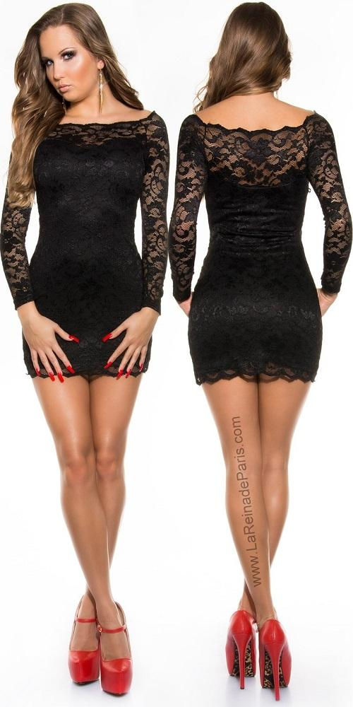 Vestidos elegantes de encaje Mazzone