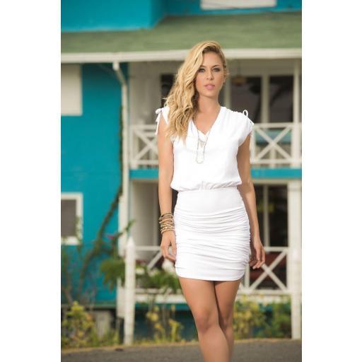 Vestido encanto blanco