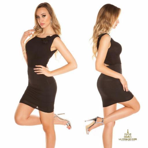 Vestido corto negro FV [2]