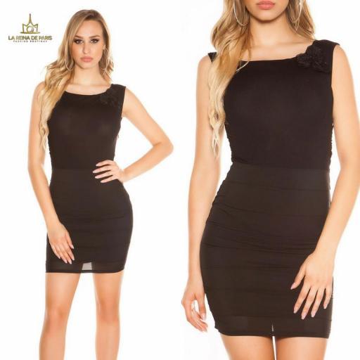 Vestido corto negro FV [3]