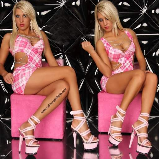Zapatos plataforma Enitan rosa [1]