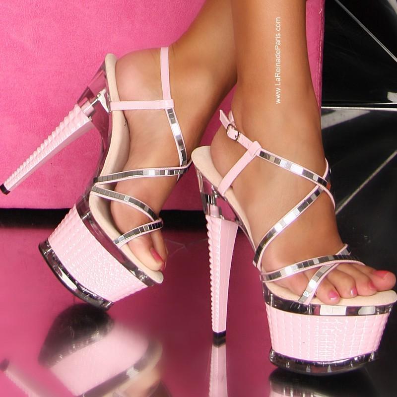 Zapatos elegantes Mykyta rosa