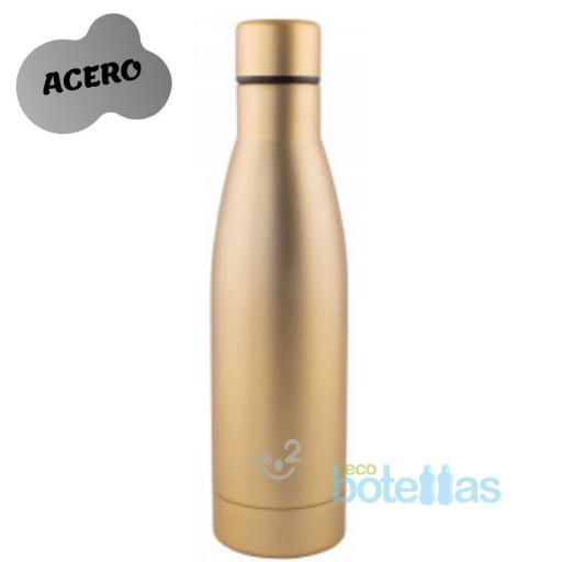 102-S Térmica acero GOLD (500ml)