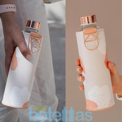 EQUA Heavens botella de cristal (750ml) con funda [3]