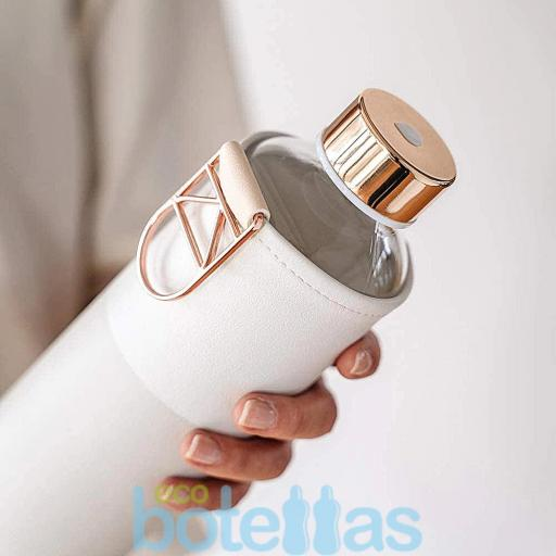 EQUA Sage botella de cristal (750ml) con funda [1]
