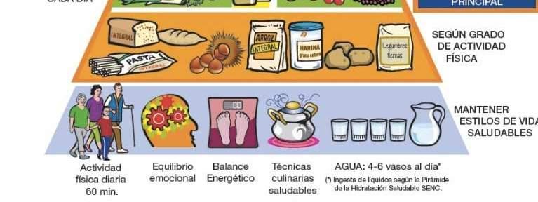 Conoce la nueva pirámide alimenticia que debes tener en cuenta para cuidar tu salud