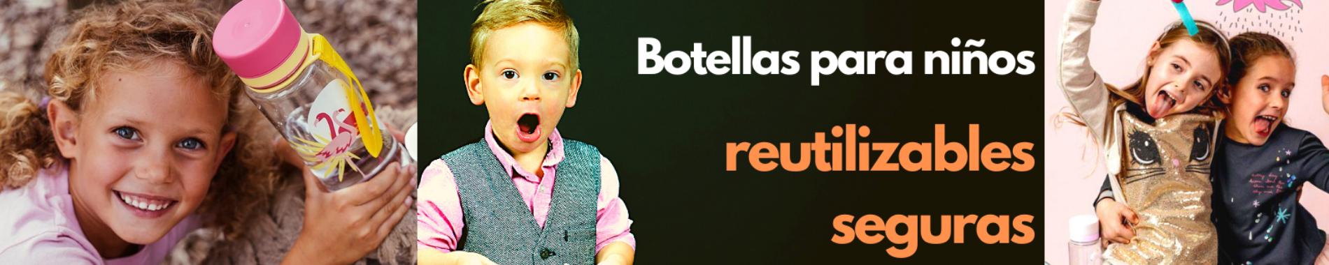 Botellas de agua para niños. Guía de compra 2021 - 1