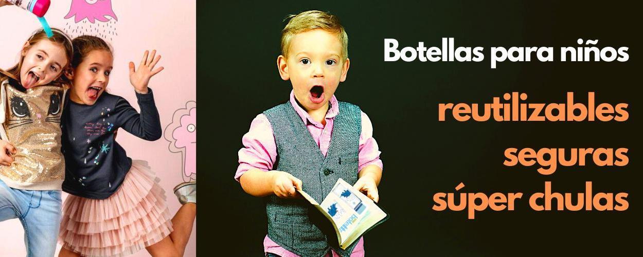 Botellas para NIÑOS (BPA Free)