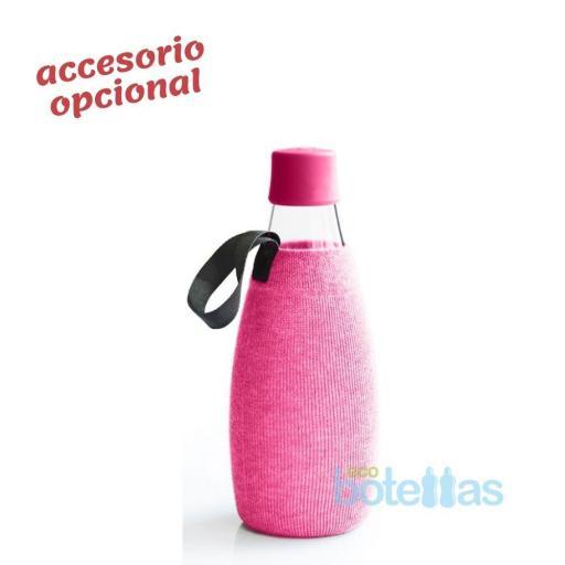 RETAP Funda algodón Rosa