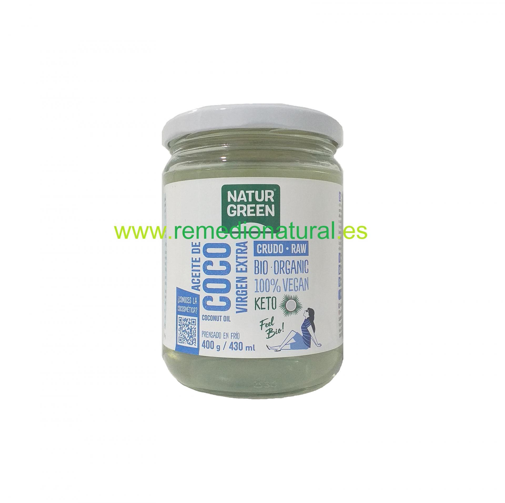 Aceite Coco Virgen Bio 430ml