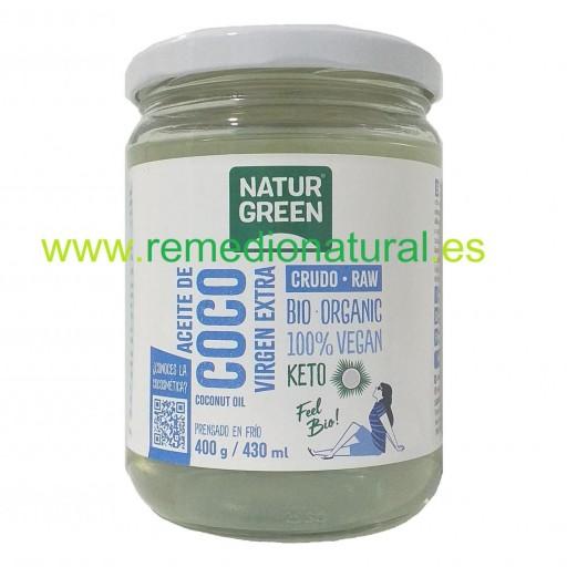 Aceite Coco Virgen Bio 430ml [0]