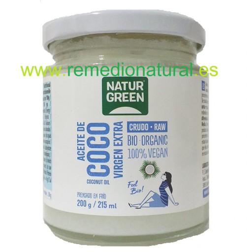 Aceite Coco Virgen Bio 215ml
