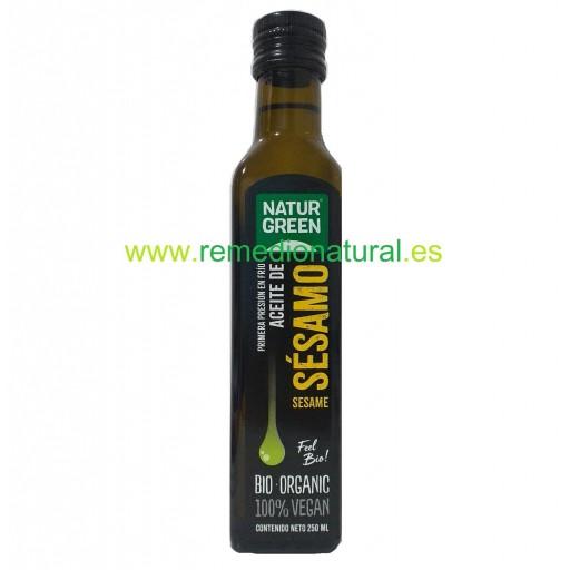 Aceite de Sésamo Bio 250ml
