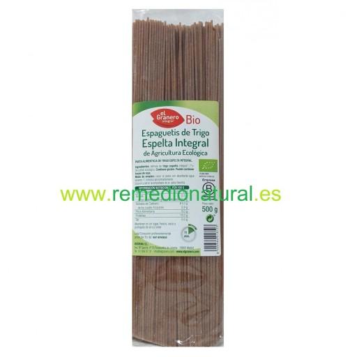 Espaguetti Integral de Espelta Eco 500gr.