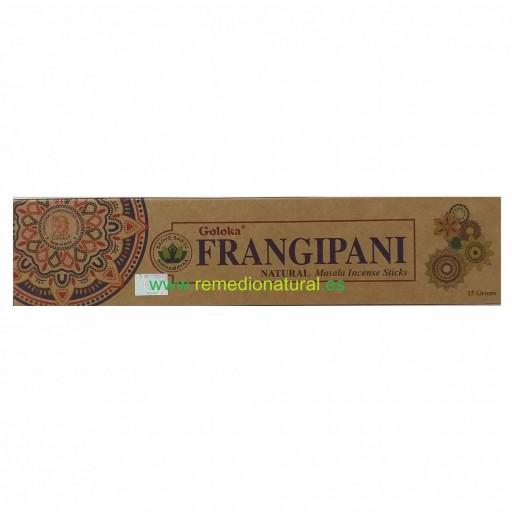 Incienso Orgánico Goloka Frangipani
