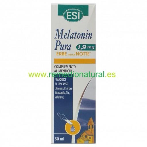 Melatonin Pura 1,9 mg.