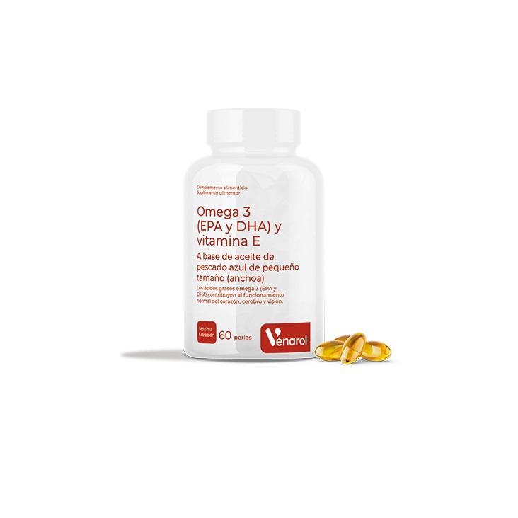 Omega 3 EPA, DHA y Vitamina E